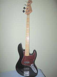 for sale fretless sx jazz bass guitar one3two2three1. Black Bedroom Furniture Sets. Home Design Ideas